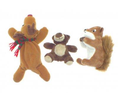 Veverka,medvěd,los Puppy