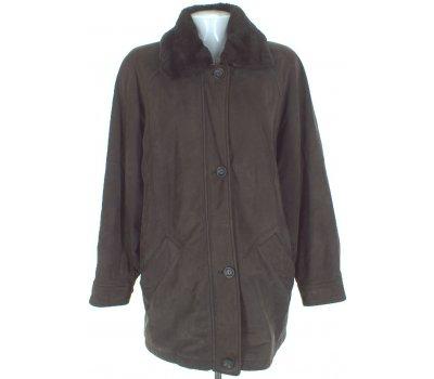 Dámská kožená podzimní bunda Donna