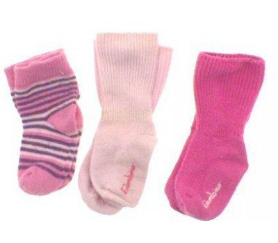 Dětské ponožky set tří párů Bambino