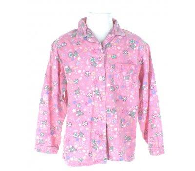 Dětské flanelové pyžamo - horní díl Primark Essentials