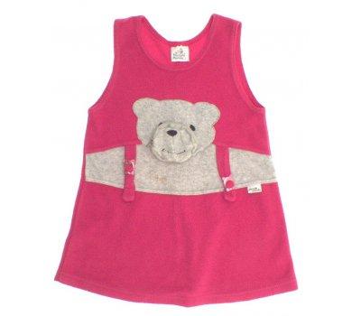 Dívčí flísové šaty Piccollo